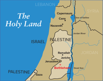 Map-of-The-Holy-Land